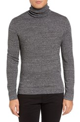 Theory Men's Donners Trim Fit Cashmere Turtleneck Black Multi