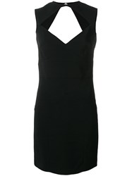 Dsquared2 Front Cut Out Tube Dress Black