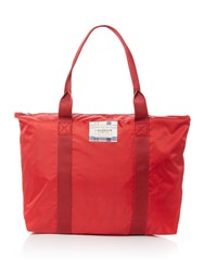 Barbour Kelty Tote Bag Red