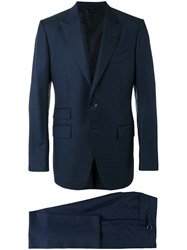 Tom Ford O'connor Two Piece Suit Blue