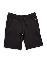Danskin Stretch Cotton Bermuda Shorts Black