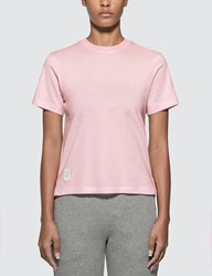 Thom Browne Relaxed Fit T Shirt Pink