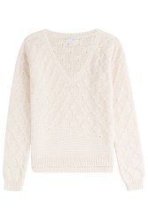 Lala Berlin Cotton Pullover White