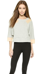 Vpl Active Double Face Knit Pullover Heather Grey