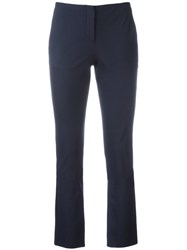 Theory Tennyson Skinny Trousers Blue