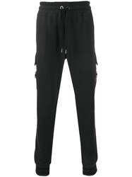 Dolce And Gabbana Stretch Jersey Track Trousers Grey