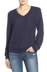 Wildfox Couture Women's Wildfox V Neck Pullover Oxford Poly