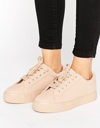 Park Lane Colour Drench Trainer Nude Beige