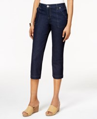 Styleandco. Style And Co. Cropped Rinse Wash Jeans Only At Macy's