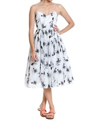 Tracy Reese Ballerina Slip Dress White Black