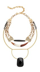 David Aubrey Genesis Necklace Gold Multi
