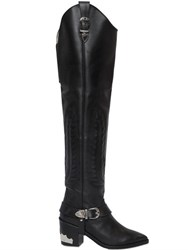 Toga Pulla 70Mm Over The Knee Leather Boots