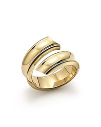 Bloomingdale's 14K Yellow Gold Open Swirl Band Ring
