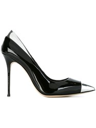 Giuseppe Zanotti Design Toe Cap Stiletto Pumps Black