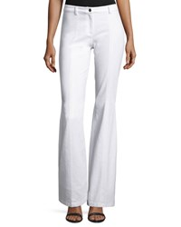 Michael Kors Denim Flare Leg Pants White