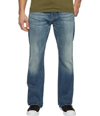 7 For All Mankind Brett In Fiji Blue Fiji Blue Men's Jeans
