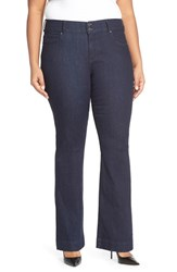 Plus Size Women's Cj By Cookie Johnson 'Foundation' Stretch Flare Leg Jeans Campbell