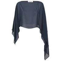 Damsel In A Dress Gabriella Shawl Navy