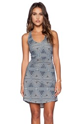 Patagonia Kamala Twist Dress Blue