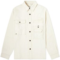 Acne Studios Orallo Twill Overshirt White