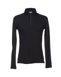 Karl By Karl Lagerfeld Topwear Polo Shirts Men Dark Blue