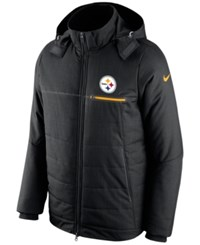 Nike Men's Pittsburgh Steelers Sideline Jacket Black