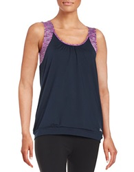Bench Mock Layered Athletic Tank Total Eclipse