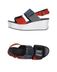 Surface To Air Sandals Red