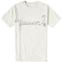 Visvim Sketch Vintage Ropes Tee Grey