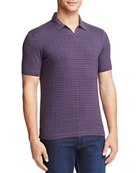 Armani Collezioni Patterned Regular Fit Polo Purple Multi