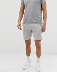 Only And Sons Basic Jersey Shorts Grey