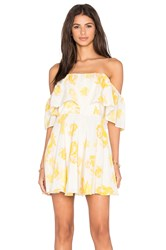 Amanda Uprichard Delilah Dress Yellow