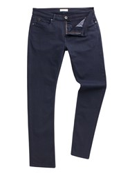 Racing Green Dene Straight Fit Navy Overdye Jean