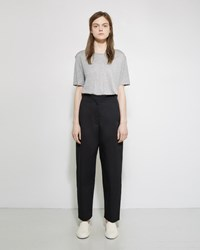 Norse Projects Annika Cotton Twill Pants Black