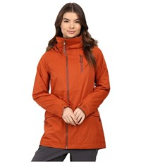 Burton Hazel Jacket Picante Women's Coat Red