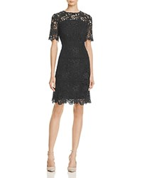 Reiss Lina Sequin Lace Dress 100 Exclusive Night Navy
