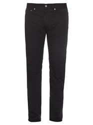 Stone Island Slim Fit Mid Rise Trousers Navy