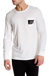 Tavik Winston Long Sleeve Pocket Tee White