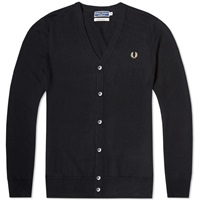 Fred Perry Reissues Classic Cardigan Black And Champagne