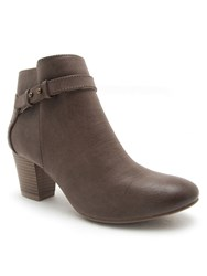 Qupid Rix Akle Boot Taupe