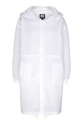Hexagon Mesh Parka By Ivy Park White
