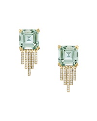Empire Prasiolite Fringe Earrings Ivanka Trump