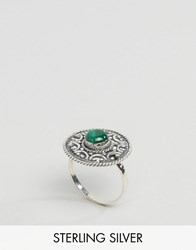 Regal Rose Sterling Silver Balula Gemstone Ring Silver