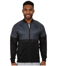 Brooks Run Thru Jacket Black Asphalt Men's Coat