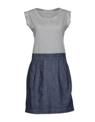 Novemb3r Short Dresses Light Grey