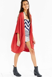 Ecote Hilary Cardigan Red