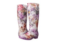 Kamik Orchid Purple Printed Women's Rain Boots Multi