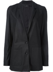 Drome Two Button Blazer Black