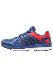 Adidas Performance Supernova Sequence 9 Stabilty Running Shoes University Ink Collegiate Navy Ray Blue Dark Blue