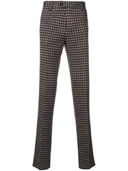 Missoni Checked Trousers Blue